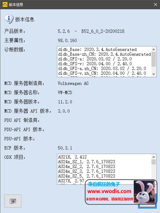 odis 5.2.6最新数据Postsetup 98.0.160-一车网