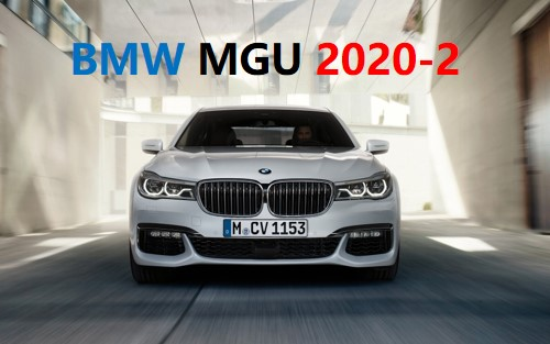 BMW导航地图 Road Map China MGU 2020-4-中国首发