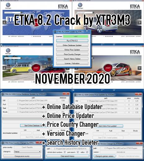 ETKA 8.3 Update incl. Crack-一车网