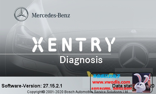 Mercedes-Benz Xentry Passthru 09.2020 Release 20.9.3 Final-一车网
