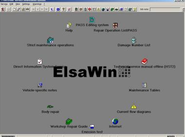 ElsaWin 6.0多国语言