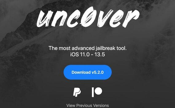 unc0ver 5.3.1 发布:支持 iOS 13.5.5 Beta 越狱