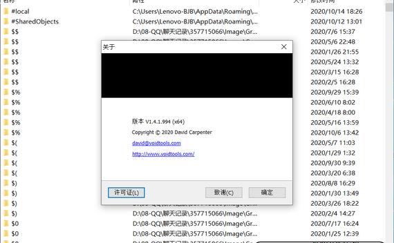 电脑文件搜索神器最新版EverythingV1.4.1.994