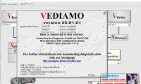奔驰 Vediamo v05.01.01 编程程序下载 破解补丁(注册机)