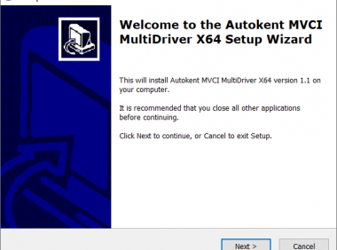 MVCI Driver for x32/64 OS Multi Version